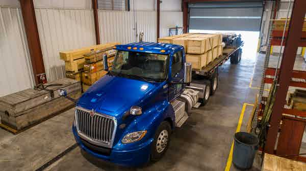 Bgr Truck With Cargo